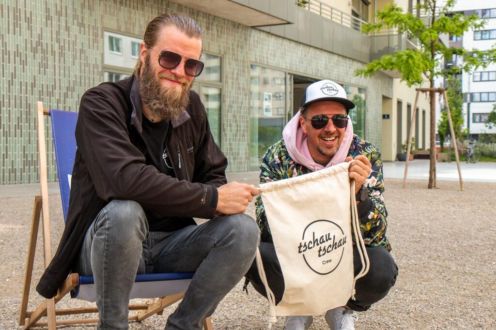 tschau tschau Crew: Franz Wogowitsch, Chris Schilcher